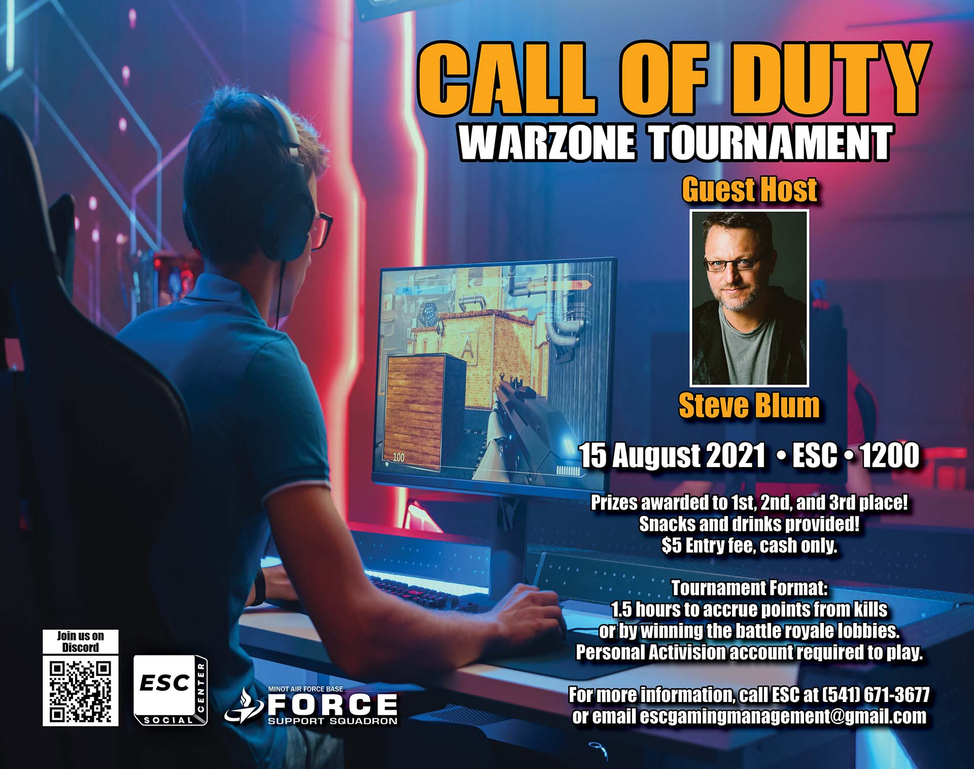 08.15 Call of Duty Warzone Tournament