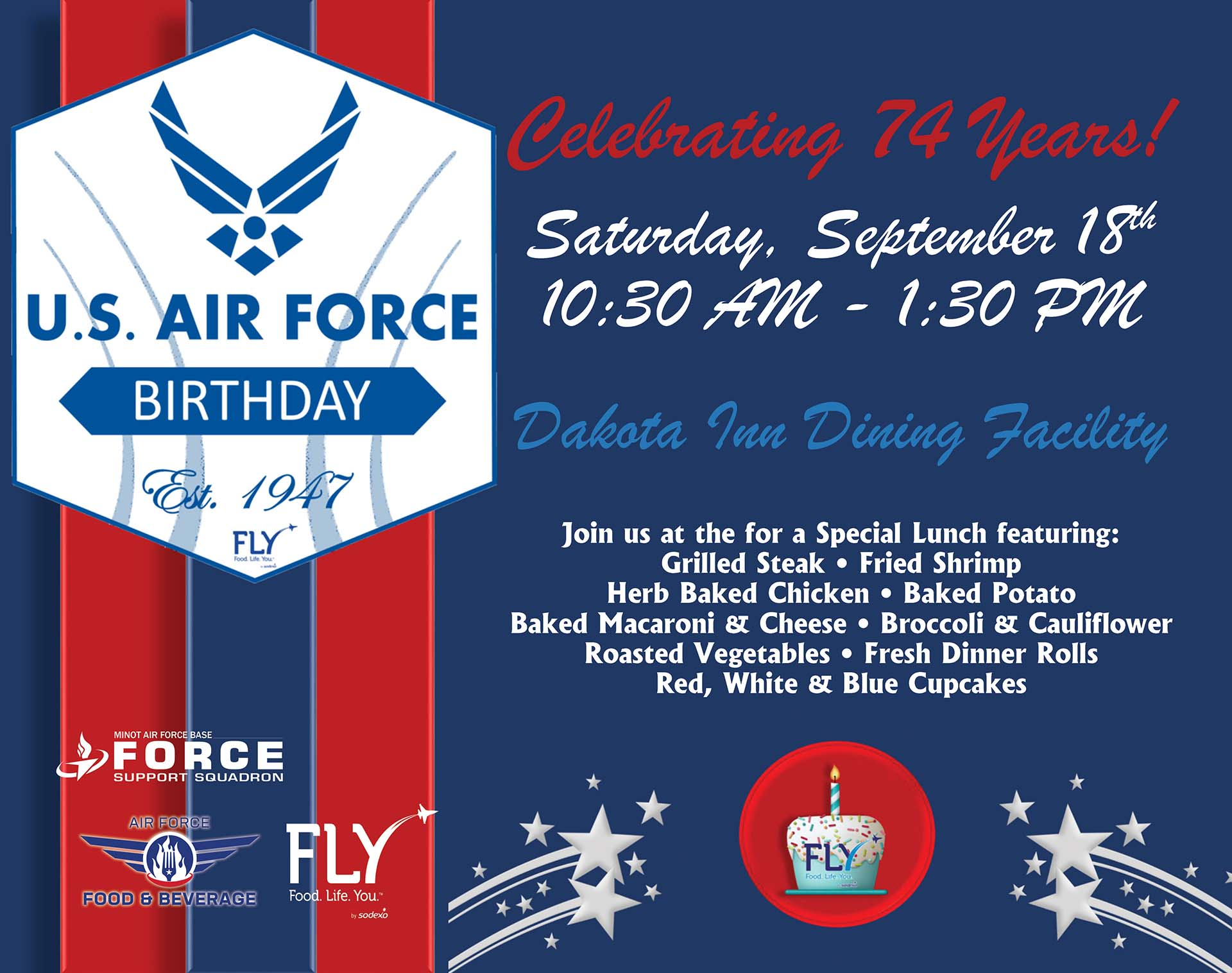 Air Force Birthday Special Lunch