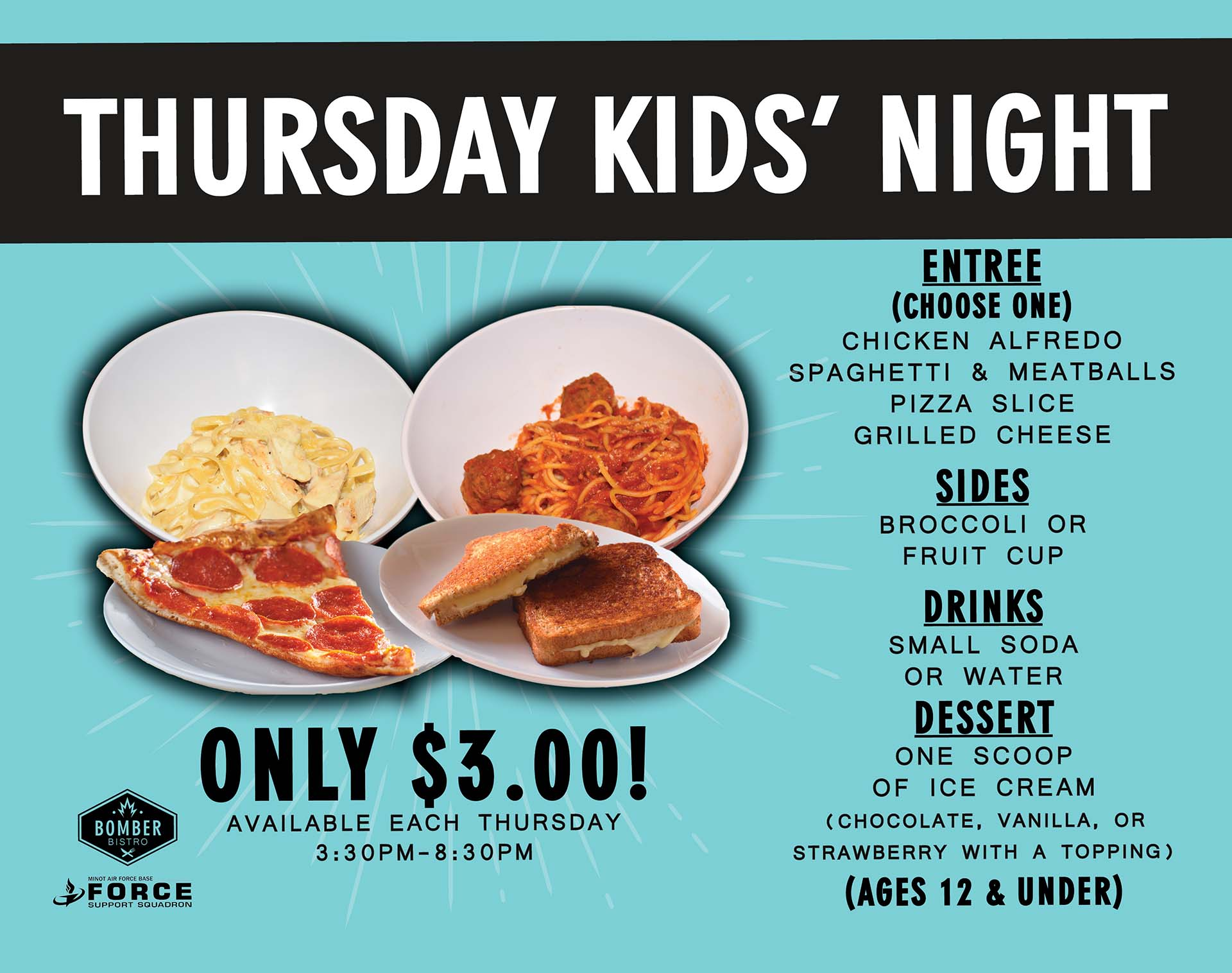 Thursday Kids Night - Aug 21