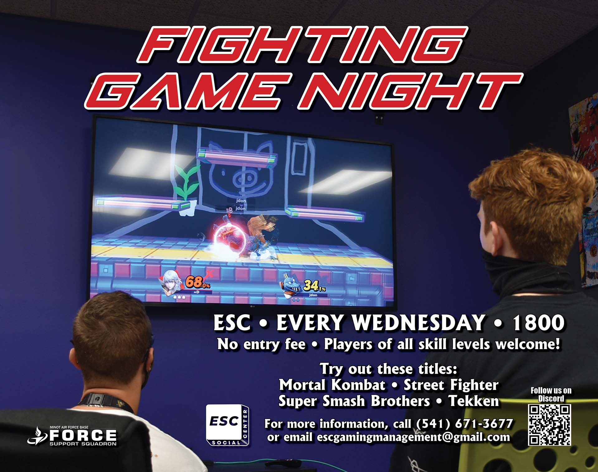 Fighting Game Night