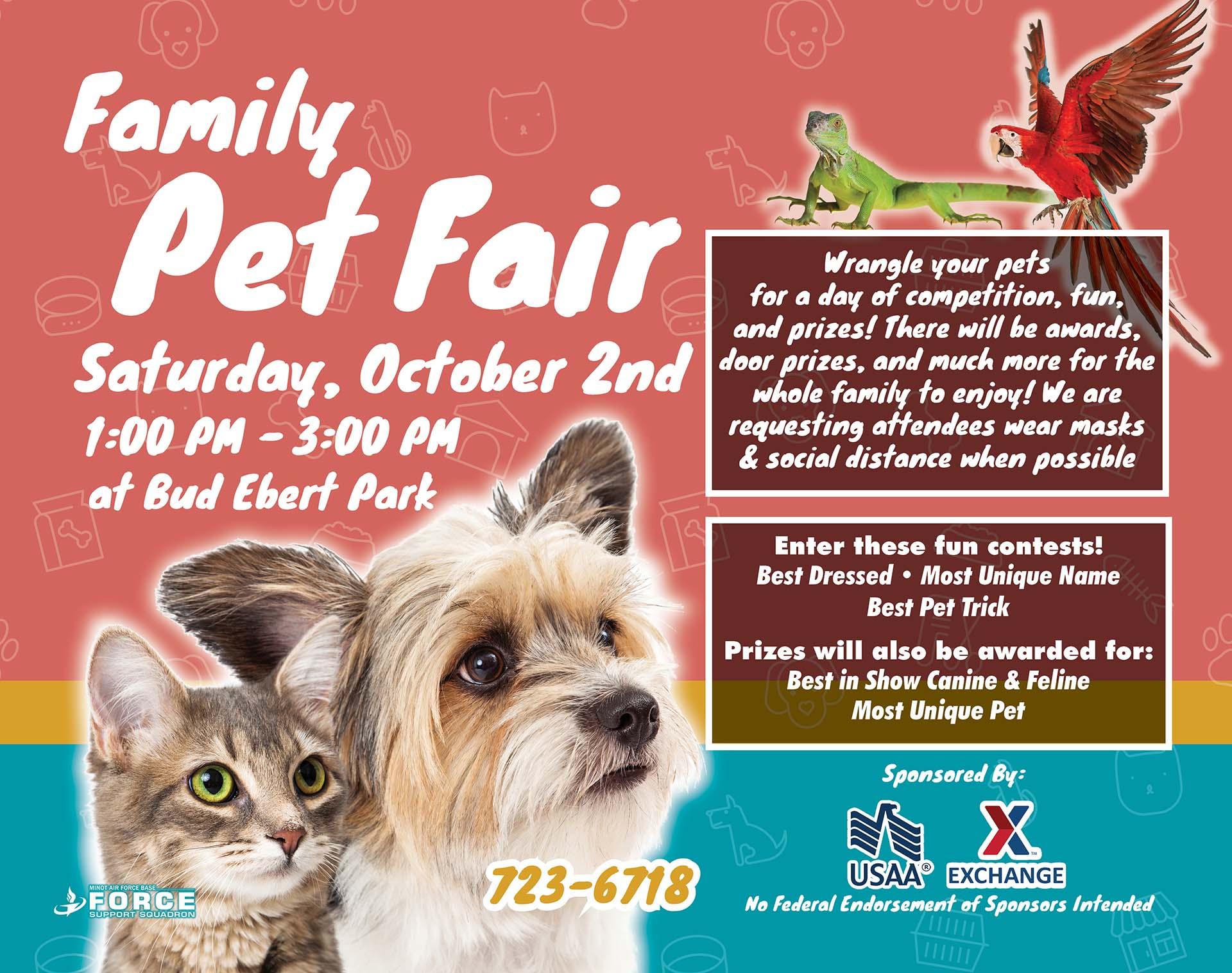 Pet Fair - Sept 21 - L