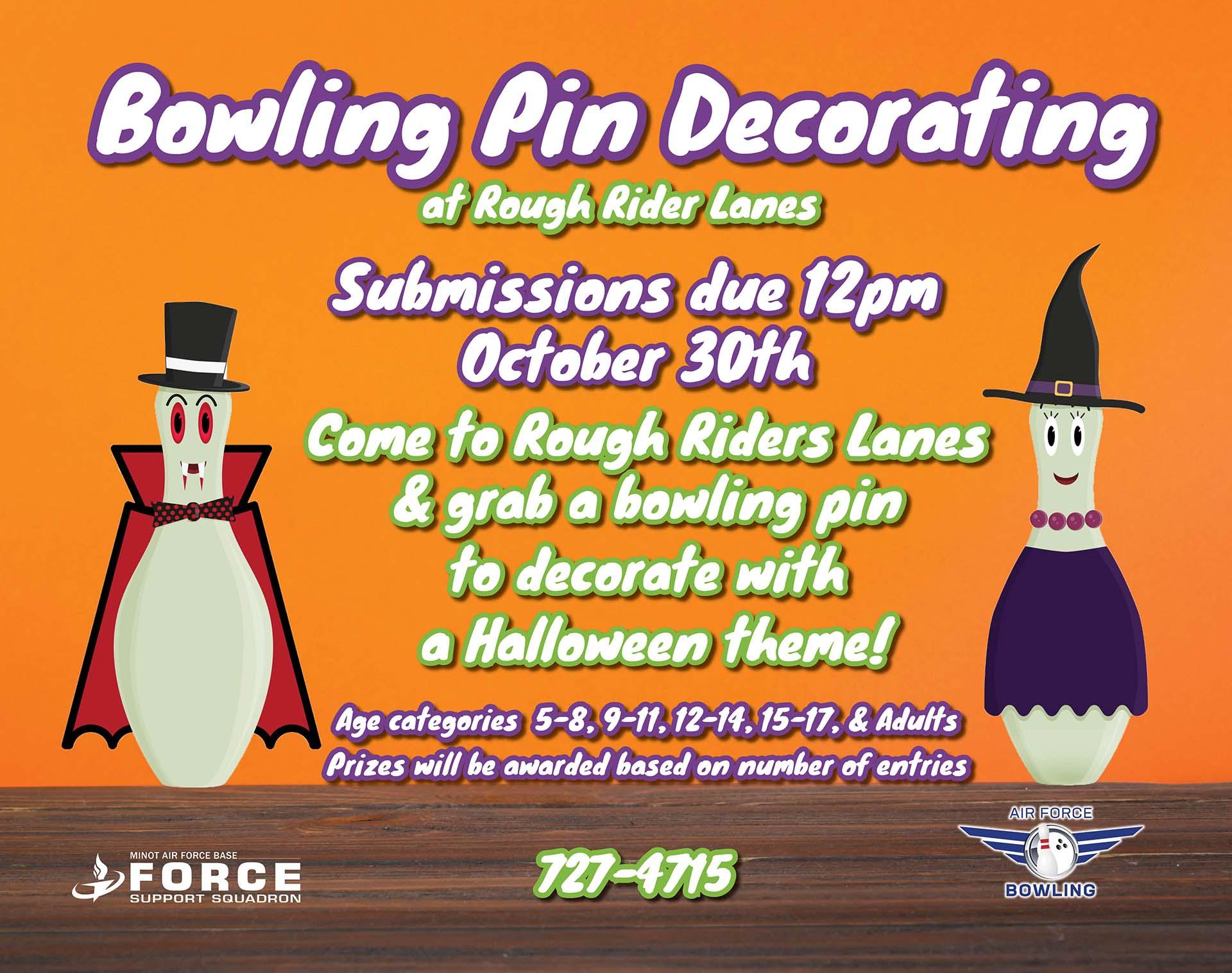 10.30 Bowling Pin Decorating