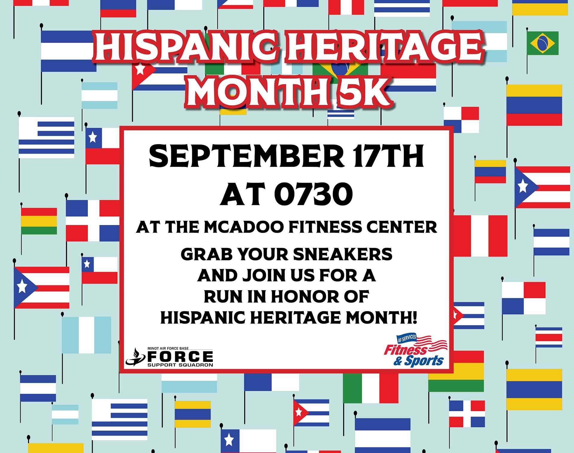 Hispanic Heritage Month 5K