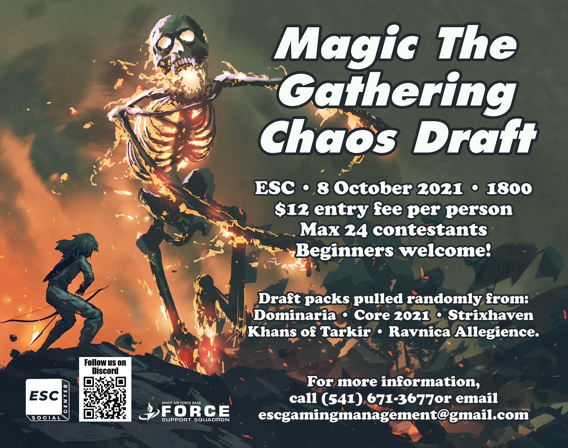 10.08 Magic The Gathering Chaos Draft