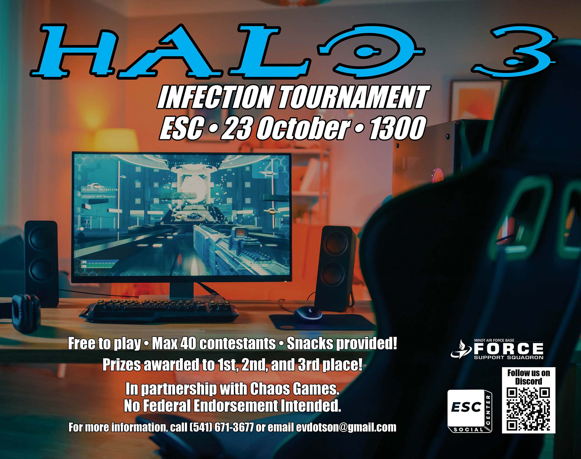 10.23 Halo 3 Infection Tournament