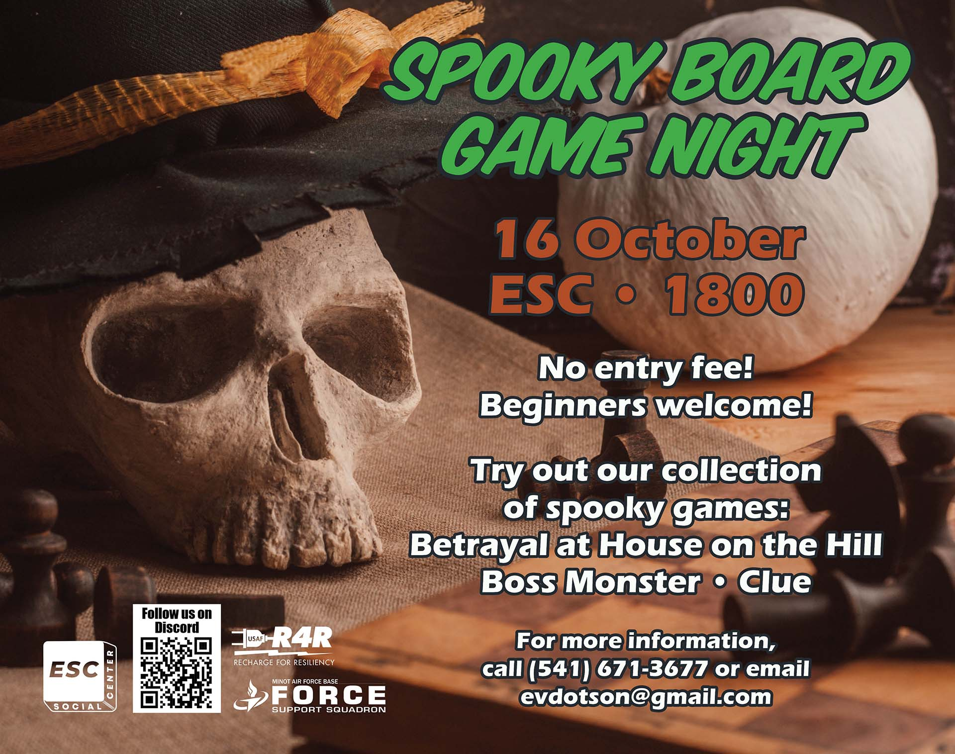 Spooky Board Game Night