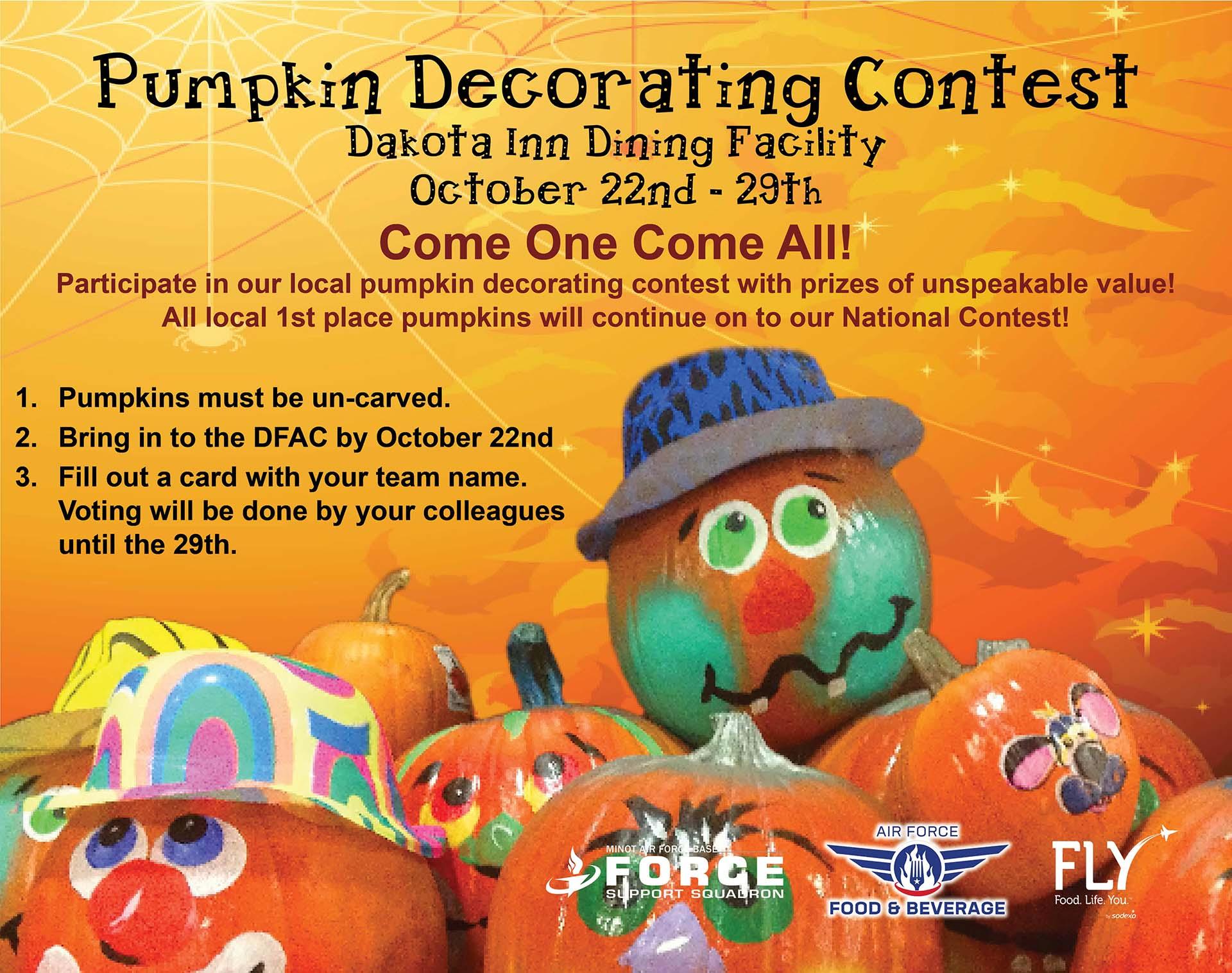 10.22-10.29 Pumpkin Decorating Contest