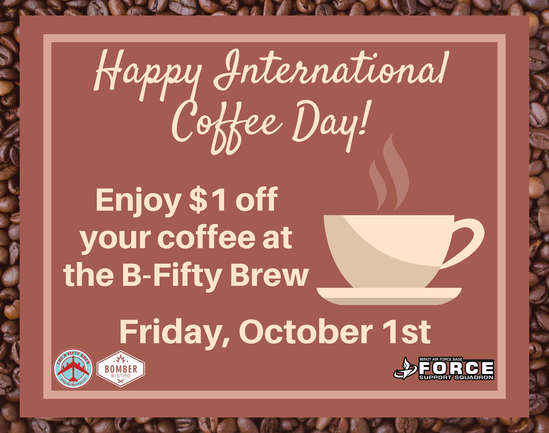 10.01 International Coffee Day
