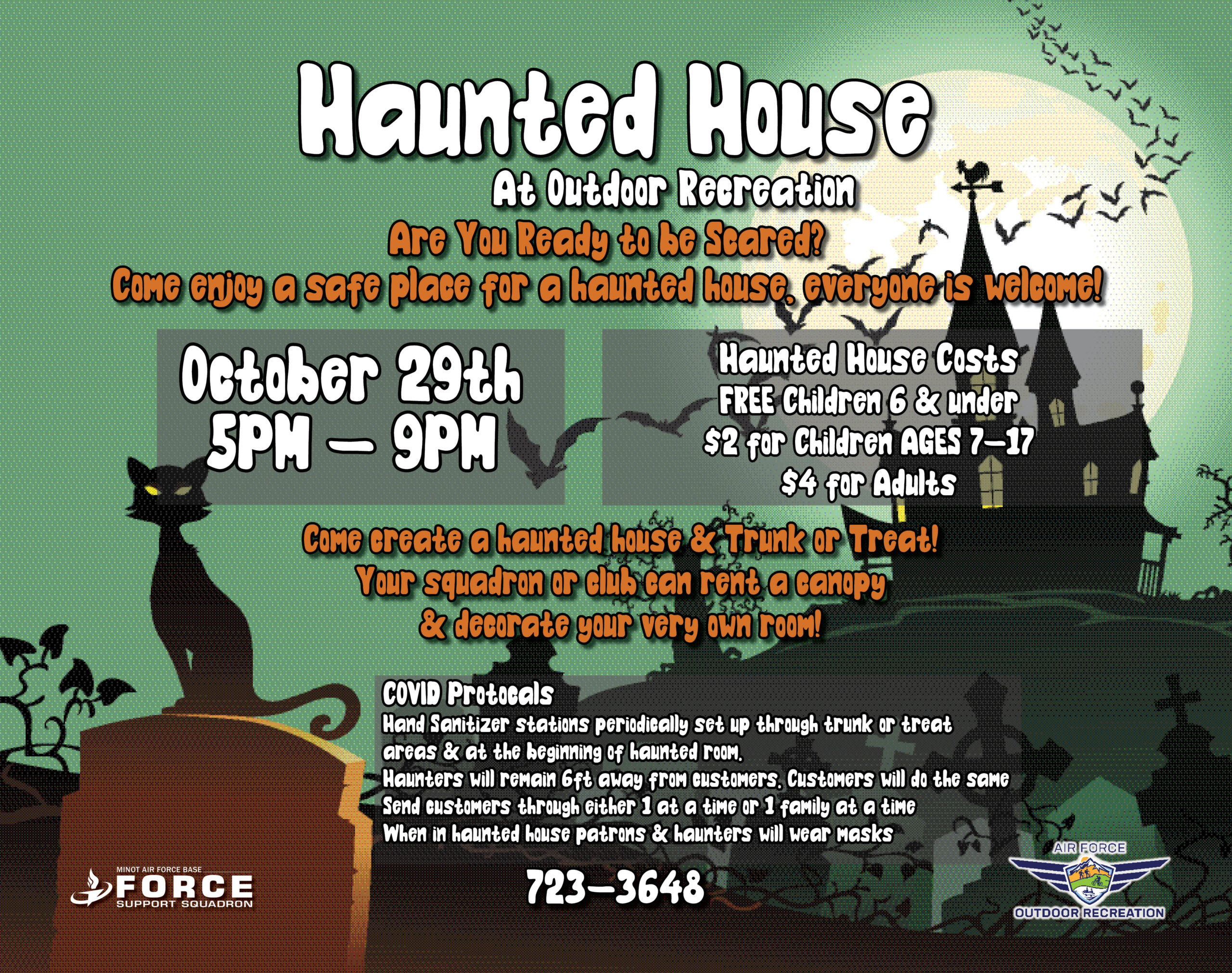 Haunted House - October 21