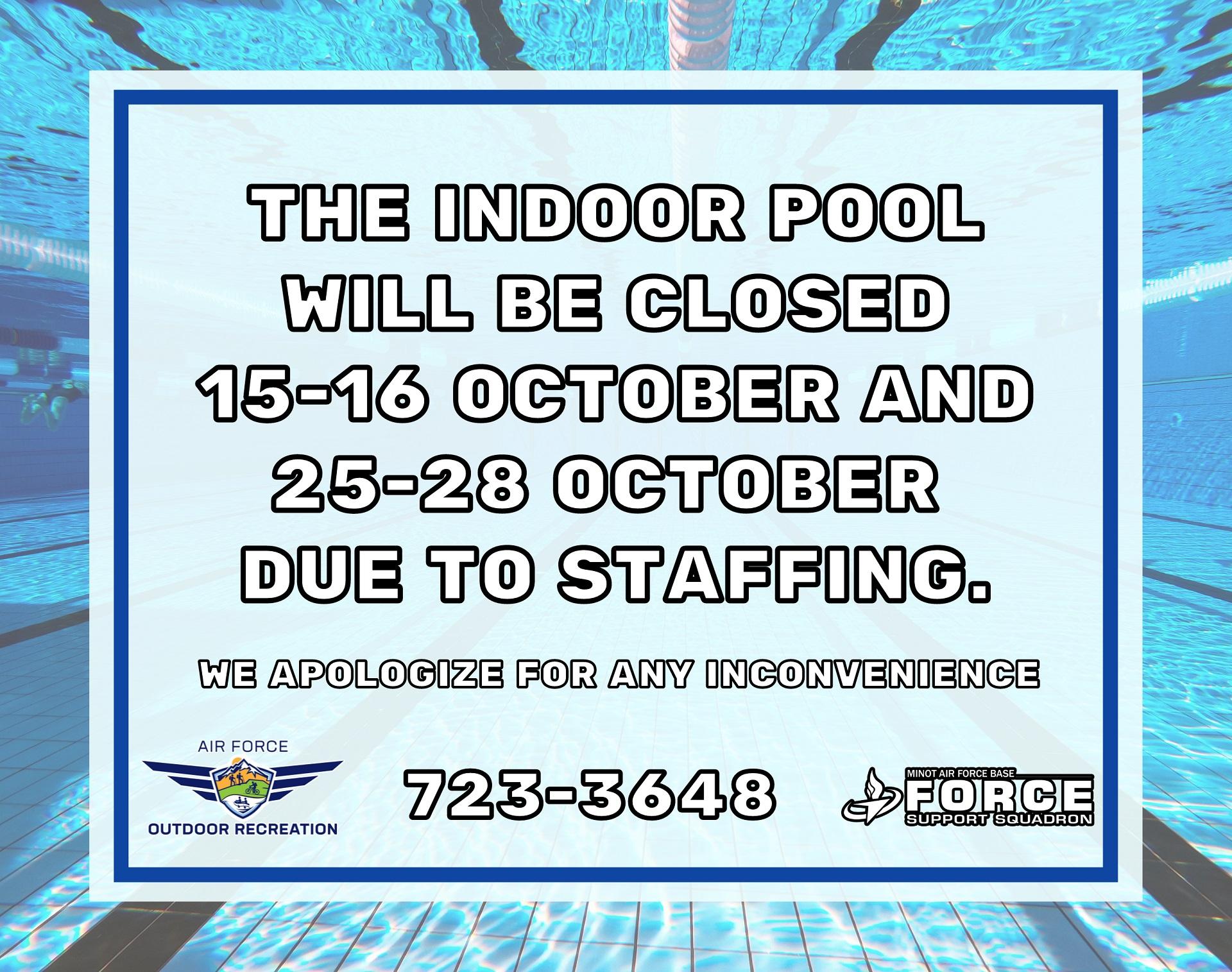 10.28 Indoor Pool Closure