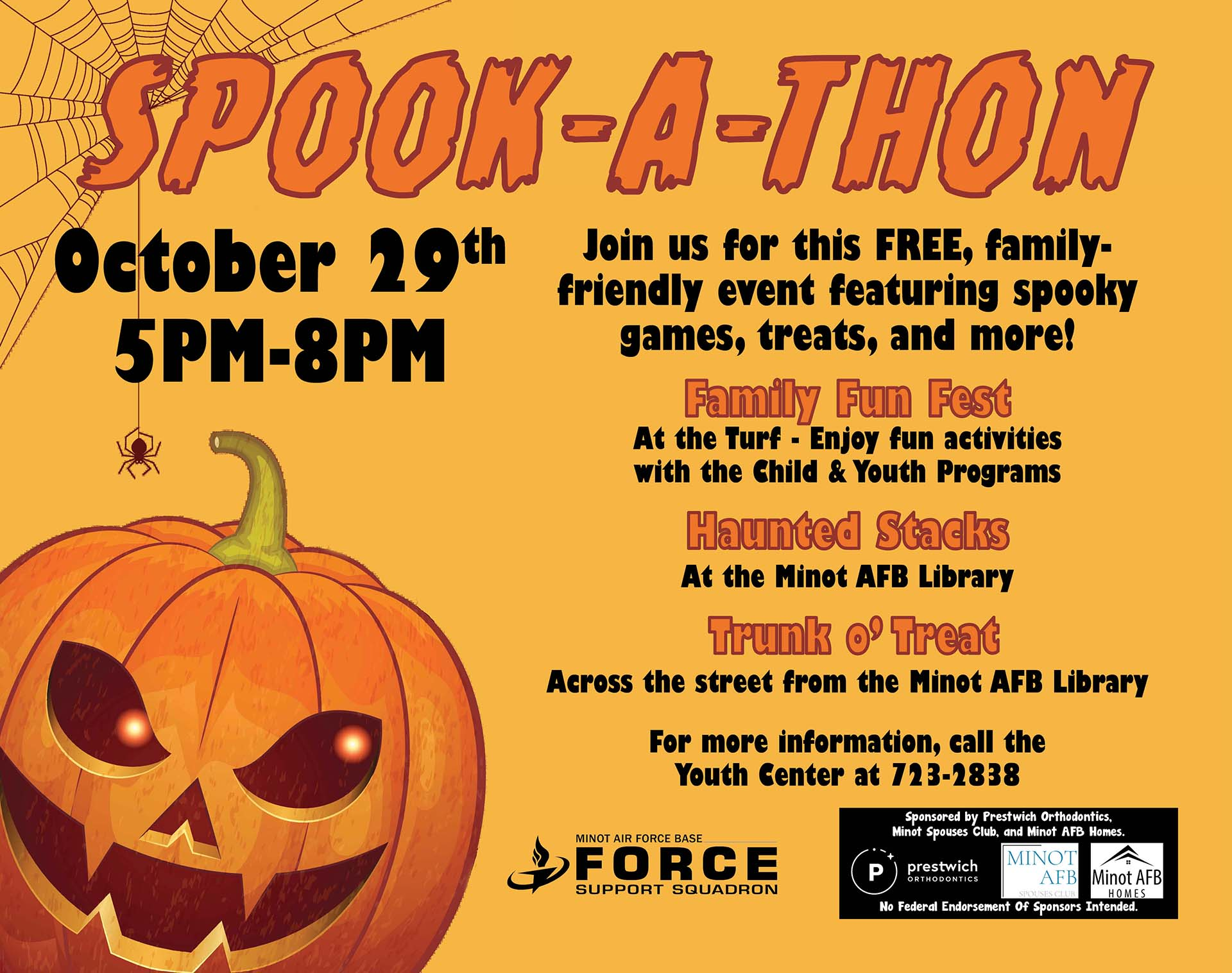 10.29 Spook-A-Thon No Discovery Center